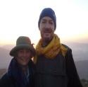 Dave and Jackie at sunrise Sarangkot